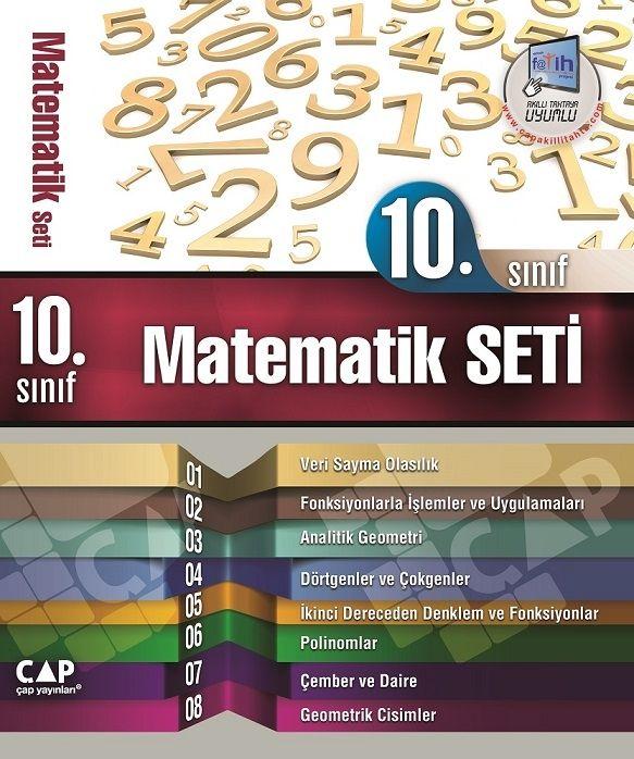 Çap Yayınları 10.Sınıf Matematik Set