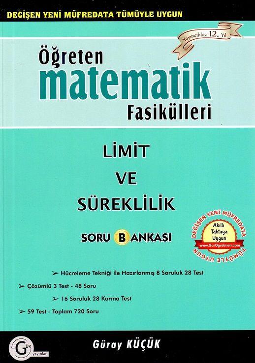 Gür Yayınları Limit ve Süreklilik Soru Bankası