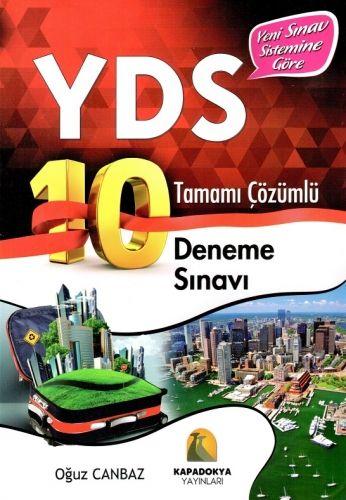 Kapadokya Yayınları YDS Tamamı Çözümlü 10 Deneme Sınavı