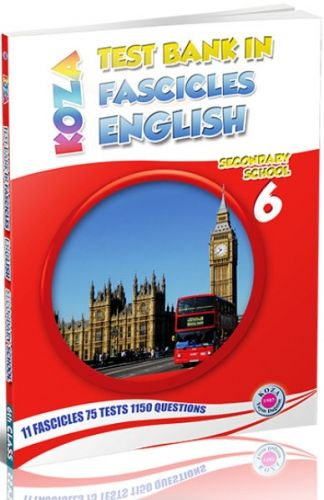Koza Yayınları 6. Sınıf İngilizce Fasikül Fasikül Soru Bankası