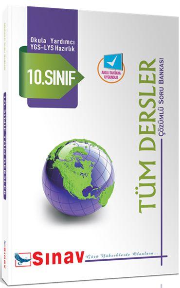 Sınav Yayınları 10. Sınıf Tüm Dersler Çözümlü Soru Bankası