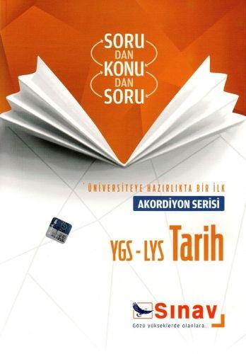 Sınav Yayınları YGS LYS Tarih Akordiyon Serisi