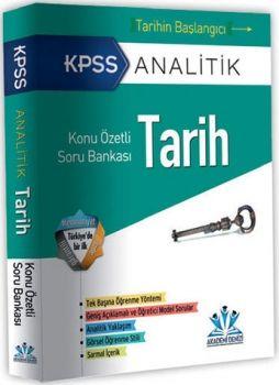 Akademi Denizi 2016 KPSS Analitik Tarih Konu Özetli Soru Bankası