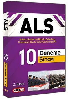 Arge Yayınları 2016 ALS Askeri Liseler ile Bando Astsubay Hazırlama Okulu Sınavlarına Hazırlık 10 Deneme Sınavı
