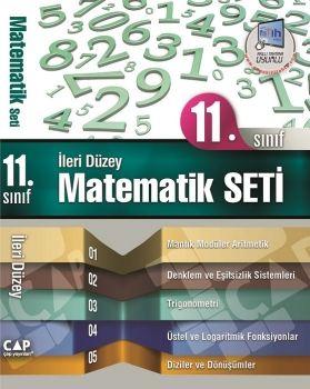 Çap Yayınları 11. Sınıf İleri Düzey Matematik Seti