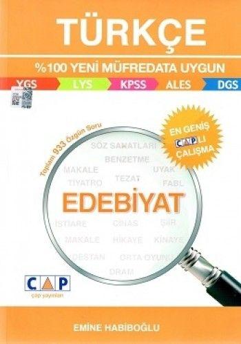 Çap Yayınları Türkçe Edebiyat