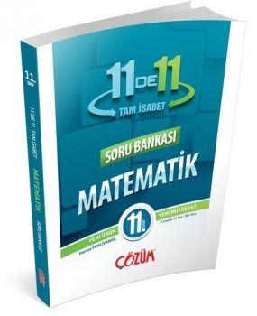Çözüm Yayınları 11. Sınıf Tam İsabet 11DE11 Matematik Soru Bankası