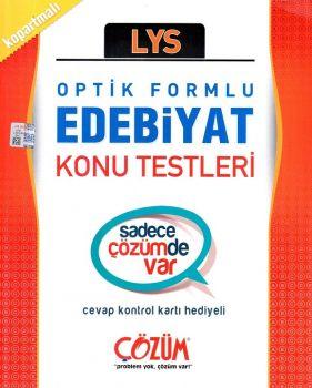 Çözüm Yayınları LYS Edebiyat Konu Testleri Optik Formlu