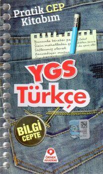 Örnek Akademi Yayınları YGS Türkçe Pratik cep Kitabım