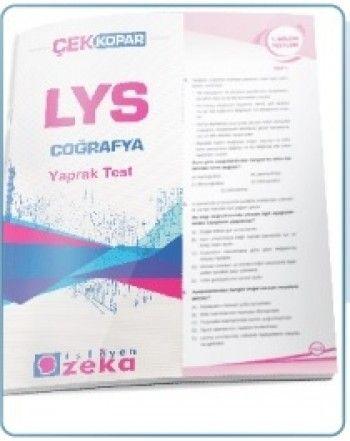 İşleyen Zeka LYS Coğrafya Yaprak Test