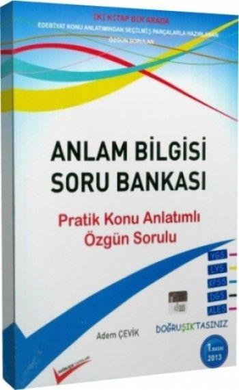 Doğruşık Yayınları Anlam Bilgisi Soru Bankası
