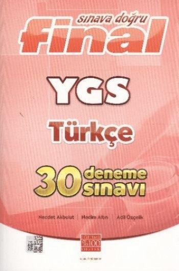 Final Sınava Doğru YGS Türkçe 30 Deneme Sınavı