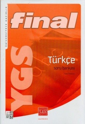Final Yayınları YGS Türkçe Soru Bankası (İlyas Örskaya)