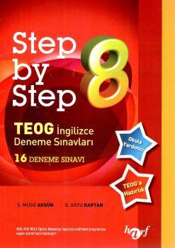 Harf Yayınları 8. Sınıf Step By Step TEOG İngilizce Deneme Sınavları