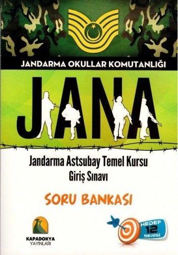 Kapadokya JANA Jandarma Astsubay Temel Kursu Giriş Sınavı Soru Bankası