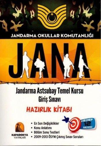Kapadokya Jandarma Astsubay Temel Kursu Giriş Sınavı Hazılık Kitabı