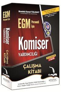 Kitapseç 2016 EGM Komiser Yardımcılığı Çalışma Kitabı Mustafa Kemal Tolunay