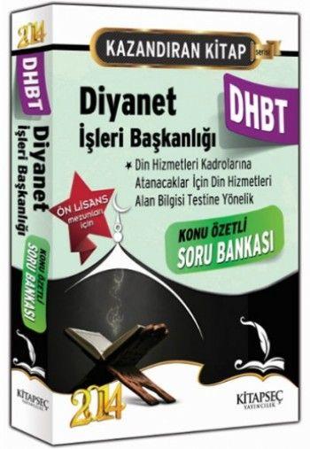 Kitapseç DHBT Diyanet İşleri Başkanlığı Ön Lisans Konu Özetli Soru Bankası