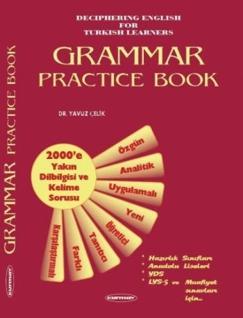Kurmay Yayınları YDS Grammar Practice Book