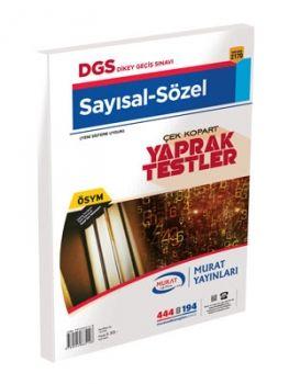 Murat Yayınları DGS 2170 Yaprak Test