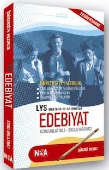 Nesa Yayınları LYS Edebiyat Konu Anlatımlı Cep Kitabı
