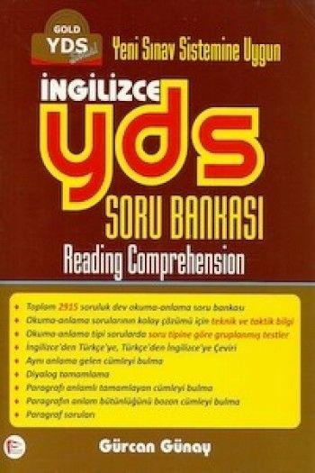 Pelikan Yayınları YDS İngilizce Gold Soru Bankası Reading Comprehension 2015