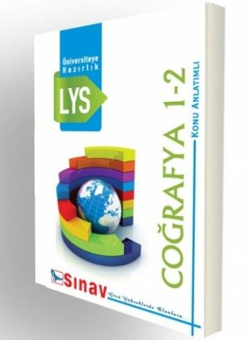 Sınav Yayınları  LYS Coğrafya 1-2 Konu Anlatımlı Test Uygulamalı