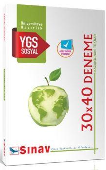 Sınav Yayınları YGS Sosyal Bilimler 30x40 Deneme