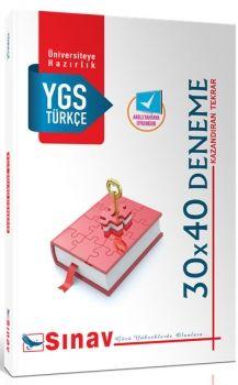 Sınav Yayınları YGS Türkçe 30X40 Deneme