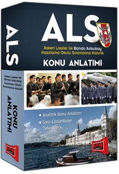 Yargı 2016 ALS Askeri Liseler ile Bando Astsubay Hazırlama Okulu Sınavlarına Hazırlık Konu Anlatımlı