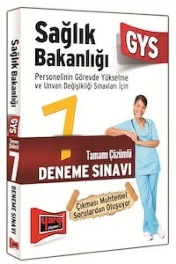 Yargı Yayınları 2015 GYS Sağlık Bakanlığı Tamamı Çözümlü 7 Deneme