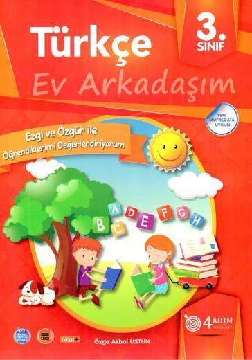 4 Adım Yayıncılık 3. Sınıf Türkçe Ev Arkadaşım