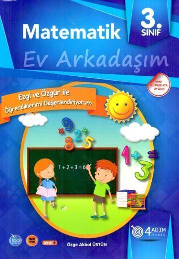 4 Adım Yayıncılık 3. Sınıf Matematik Ev Arkadaşım