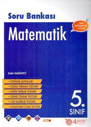 4 Adım Yayıncılık 5. Sınıf Matematik Soru Bankası