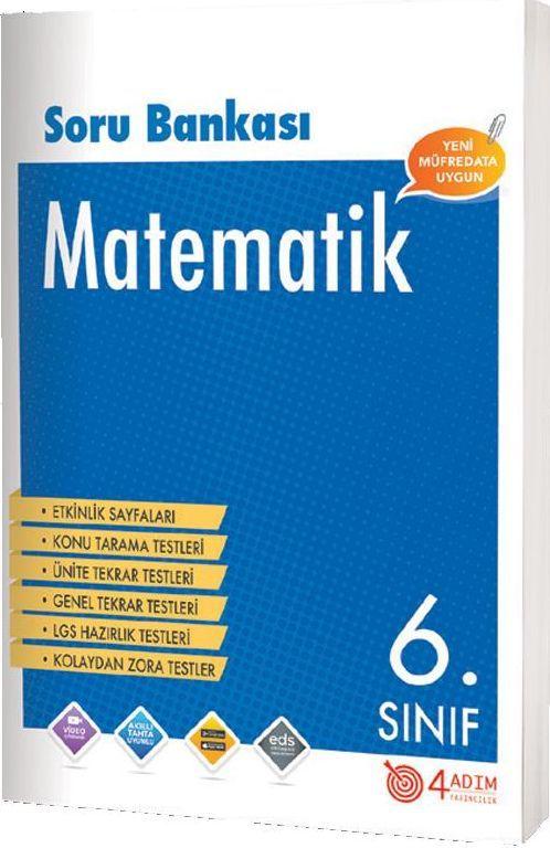 4 Adım Yayıncılık 6. Sınıf Matematik Soru Bankası