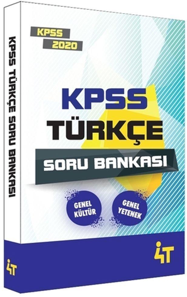 4T Yayınları 2020 KPSS Türkçe Soru Bankası