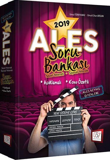 657 Yayınları 2019 ALES Konu Özetli Açıklamalı Soru Bankası