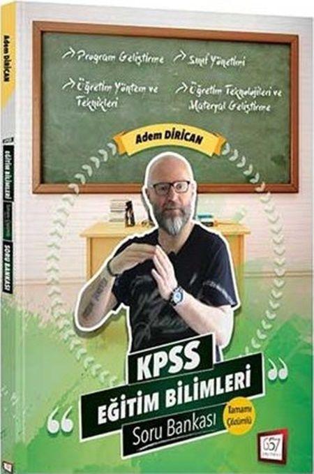 657 Yayınları 2019 KPSS Eğitim Bilimleri Açıklamalı Soru Bankası