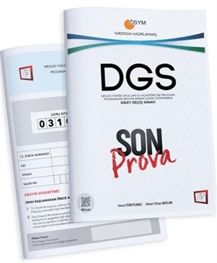 657 Yayınları DGS ÖSYM Tarzında Hazırlanmış Son Prova Deneme Sınavı