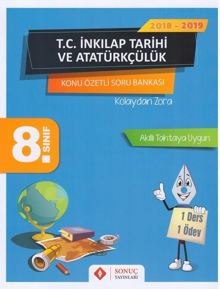 8. Sınıf T.C. İnkılap Tarihi ve Atatürkçülük Konu Özetli Soru Bankası Seti