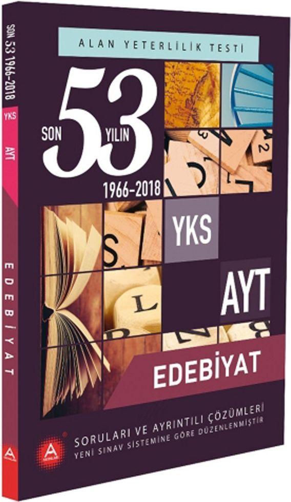 A Yayınları AYT Edebiyat Son 53 Yılın Çıkmış Soruları ve Ayrıntılı Çözümleri
