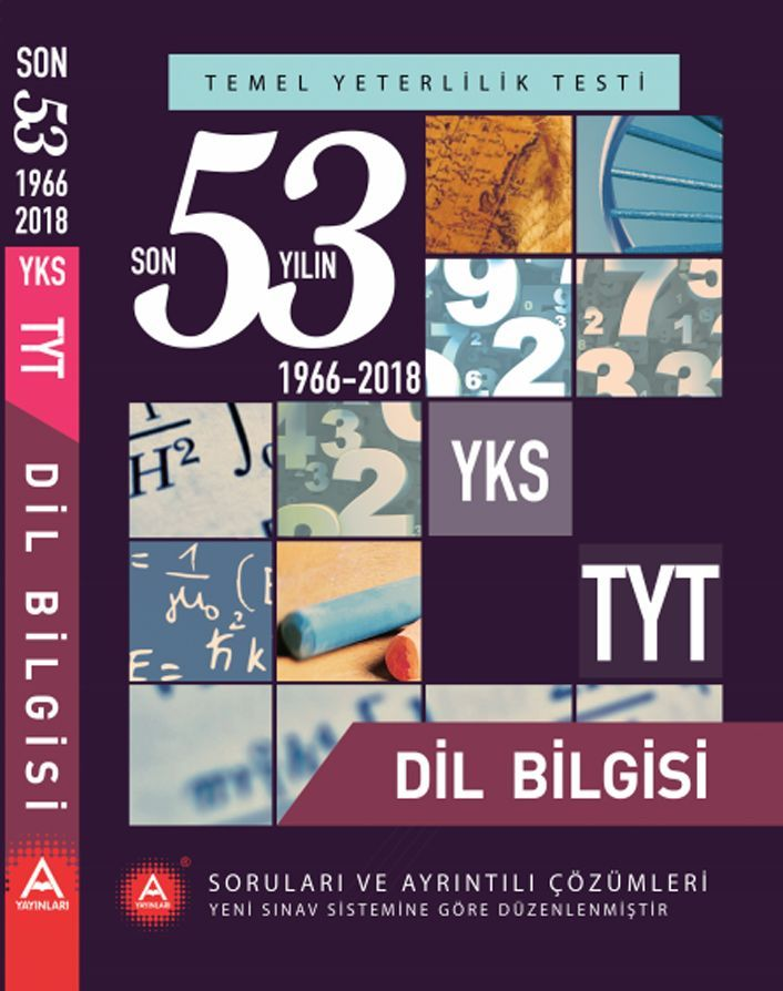 A Yayınları TYT Dil Bilgisi Son 53 Yılın Çıkmış Soruları ve Ayrıntılı Çözümleri