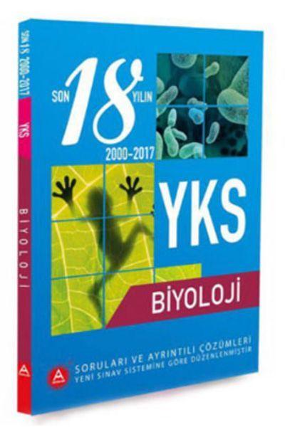 A Yayınları YKS BiyolojiSon 18 Yıl Çıkmış Soruları ve Ayrıntılı Çözümleri