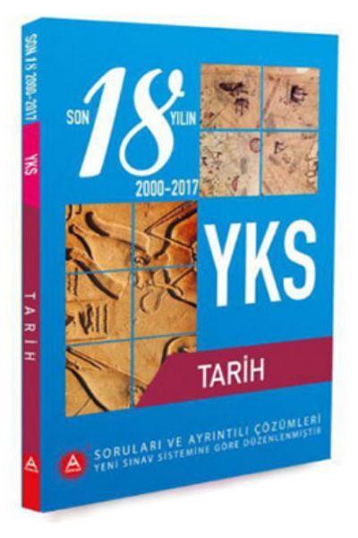 A Yayınları YKS Tarih Son 18 Yıl Çıkmış Soruları ve Ayrıntılı Çözümleri