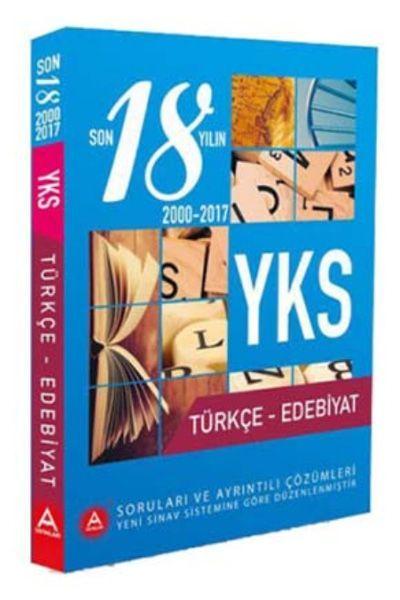 A Yayınları YKS Türkçe Edebiyat Son 18 Yılın Çıkmış Soruları