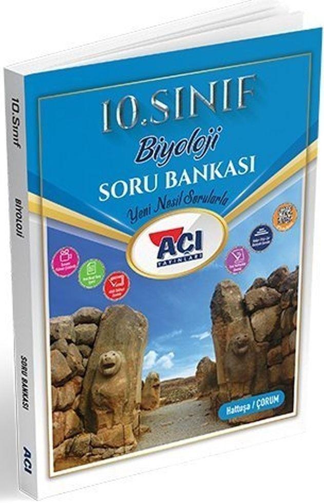 Açı Yayınları 10. Sınıf Biyoloji Soru Bankası