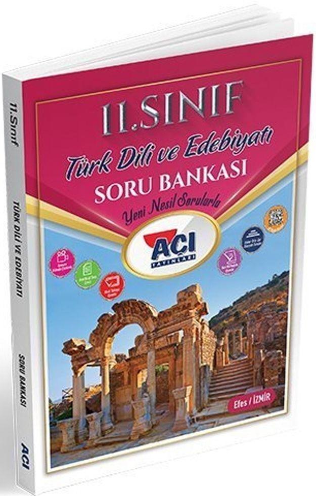 Açı Yayınları 11. Sınıf Türk Dili ve Edebiyatı Soru Bankası