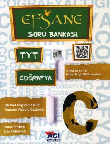 Açı Yayınları TYT Coğrafya EFSANE Soru Bankası