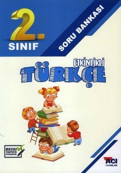 Açı Yayınları 2. Sınıf Türkçe Etkinlikli Soru Bankası