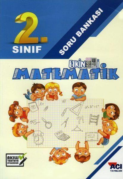 Açı Yayınları 2. Sınıf Matematik Etkinlikli Soru Bankası